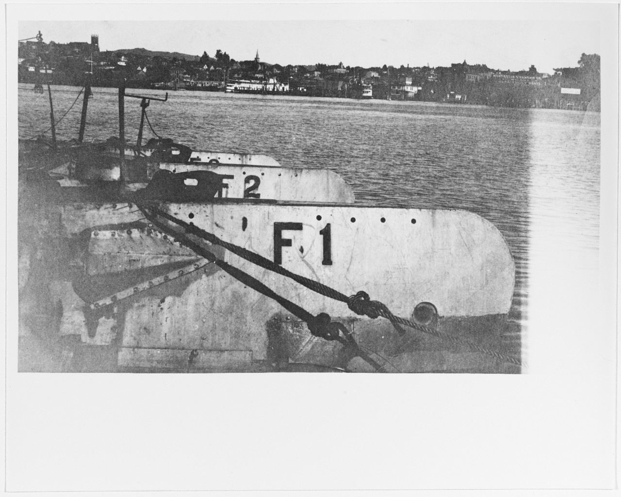 Photo #: NH 92187  F-Class Submarines