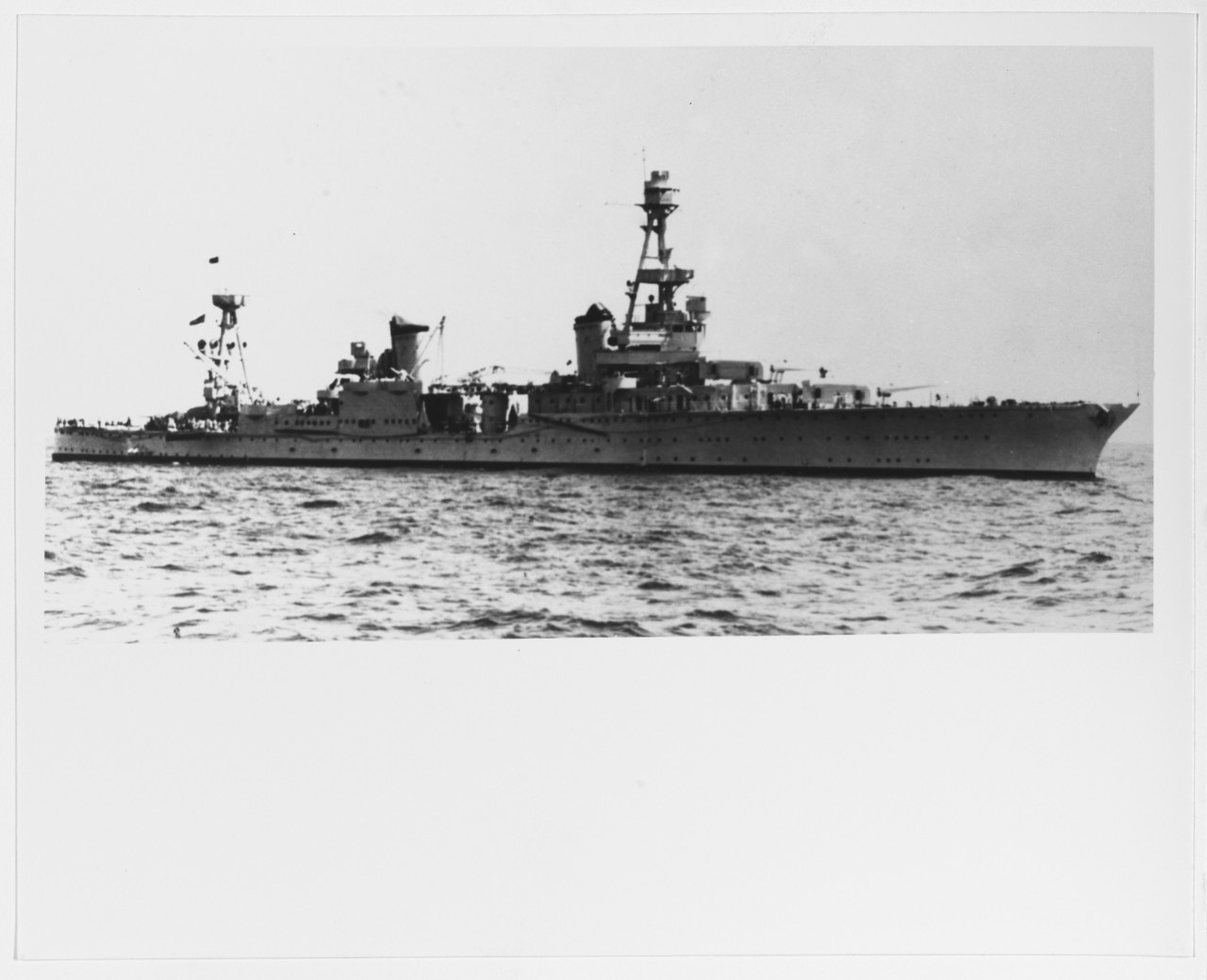 USS HOUSTON (CA-30)