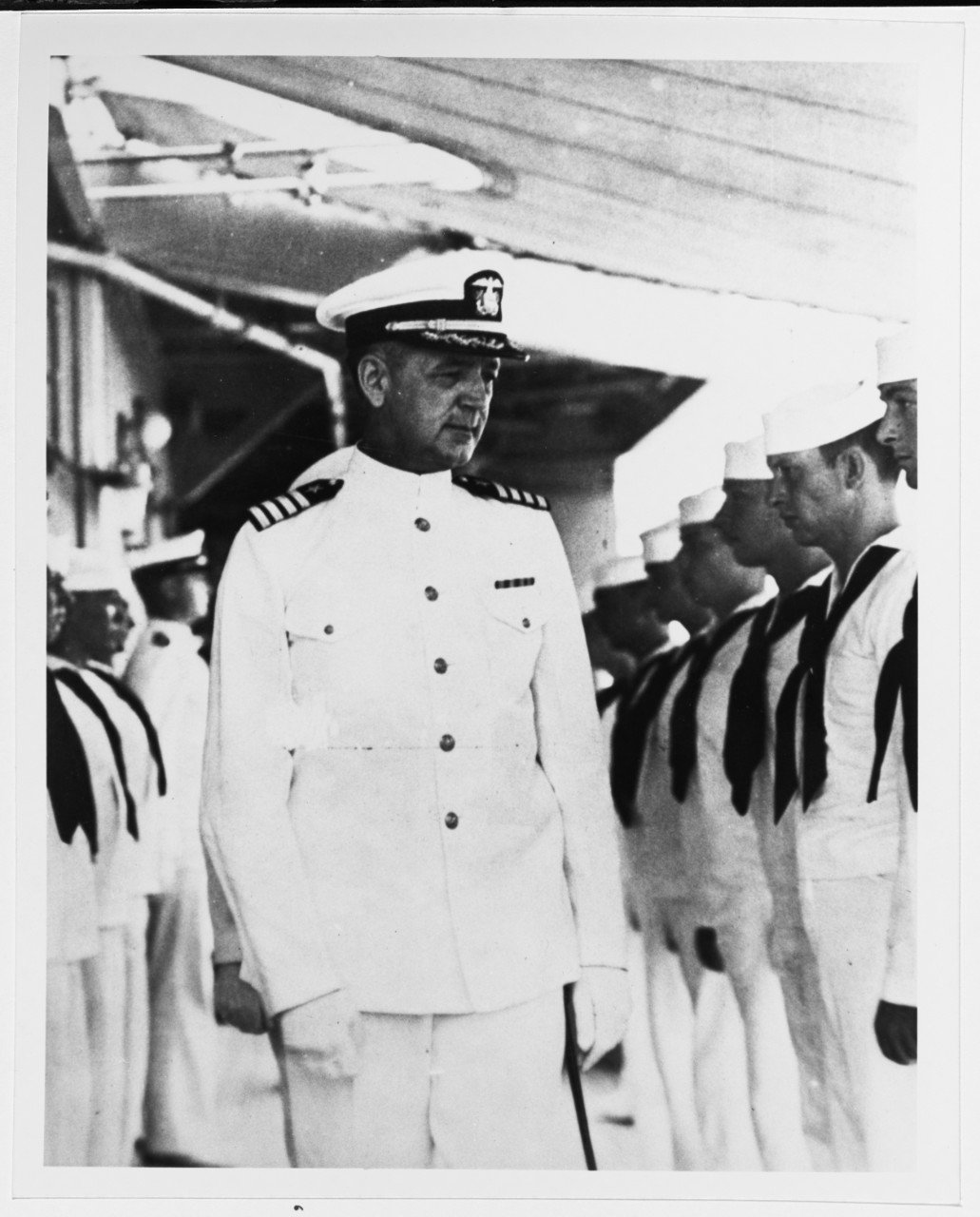 Photo #: NH 93156  Captain Albert H. Rooks, USN
