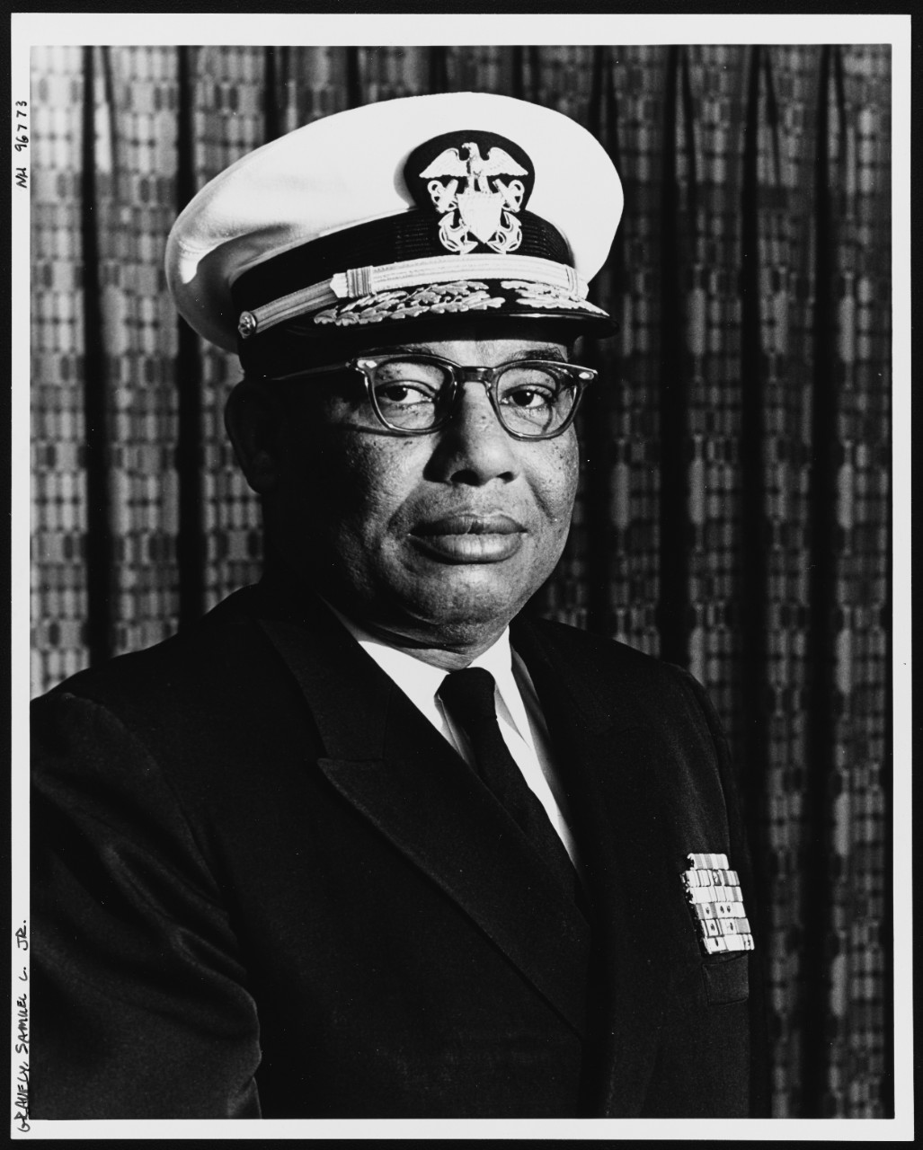 Photo #: NH 96773  Rear Admiral Samuel L. Gravely, Jr., USN