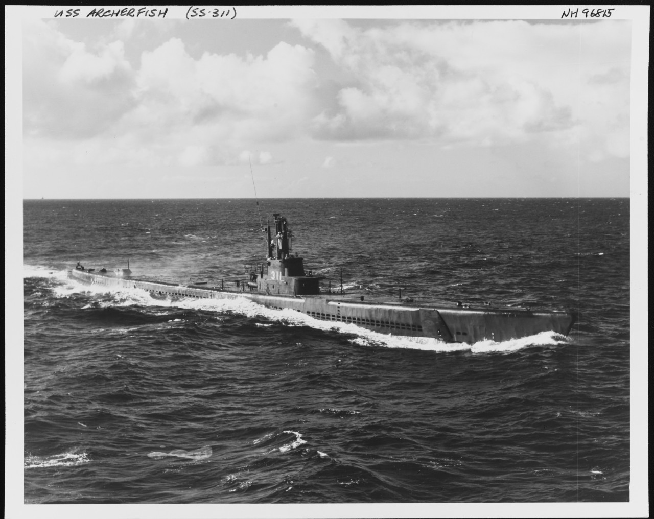 Photo #: NH 96815  USS Archerfish (AGSS-311)