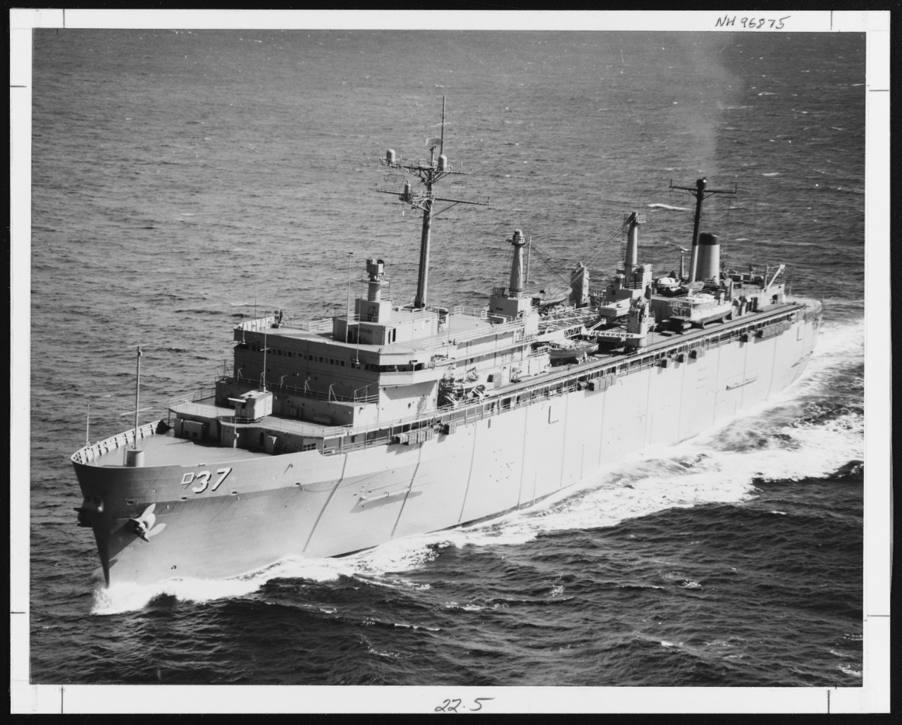 Photo #: NH 96875  USS Samuel Gompers (AD-37)