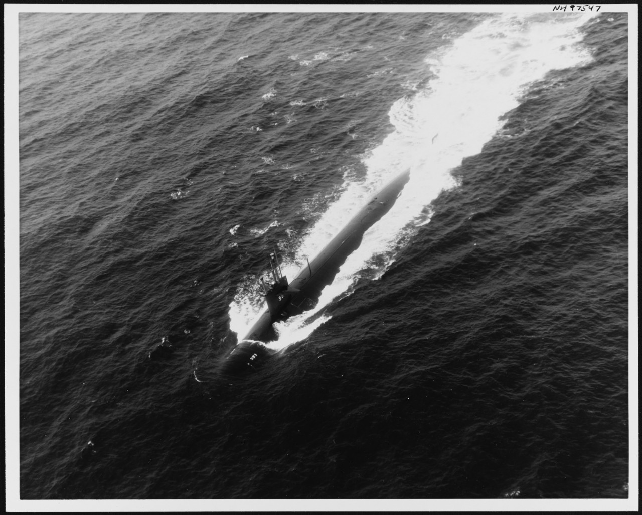Photo #: NH 97547  USS Thresher (SSN-593)