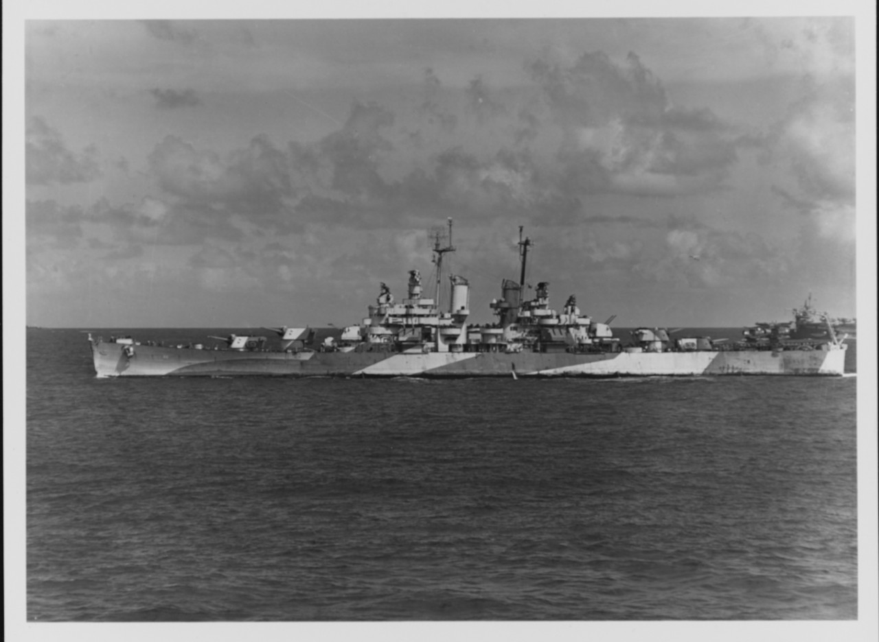 Photo #: NH 98064  USS Columbia (CL-56)