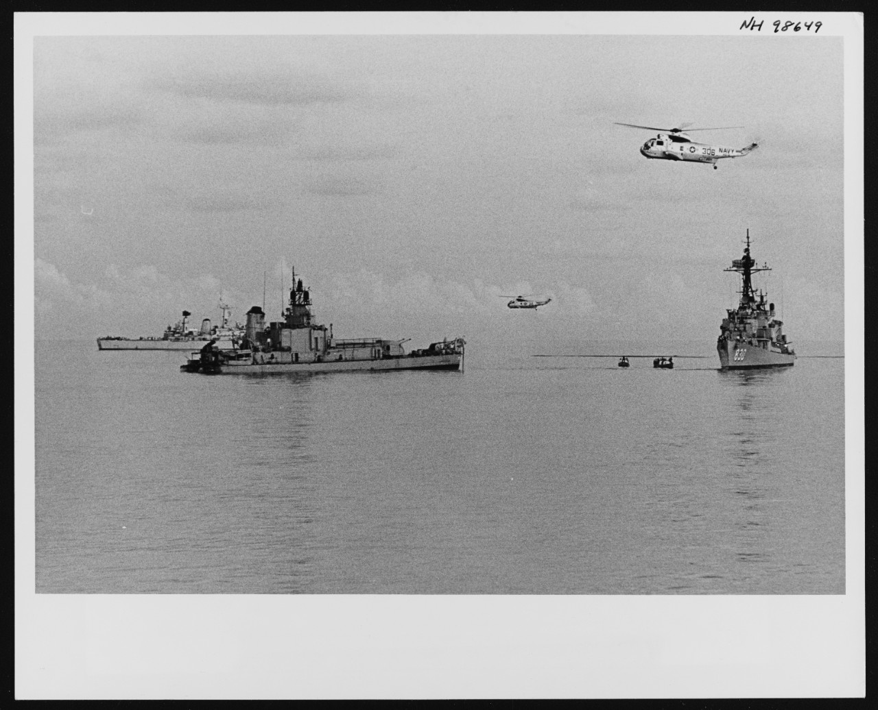 Photo #: NH 98649  Loss of USS Frank E. Evans (DD-754)