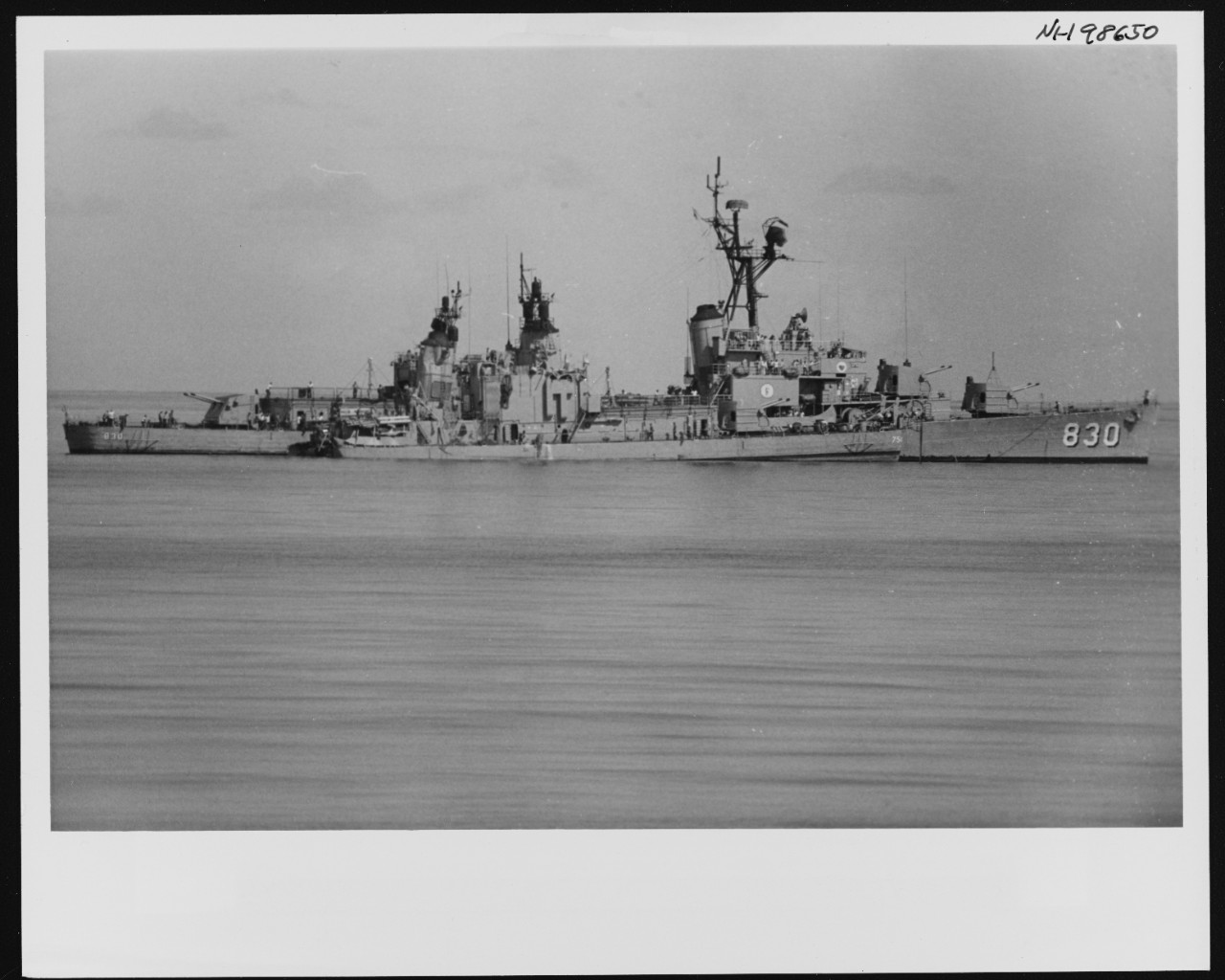 Photo #: NH 98650  Loss of USS Frank E. Evans (DD-754)