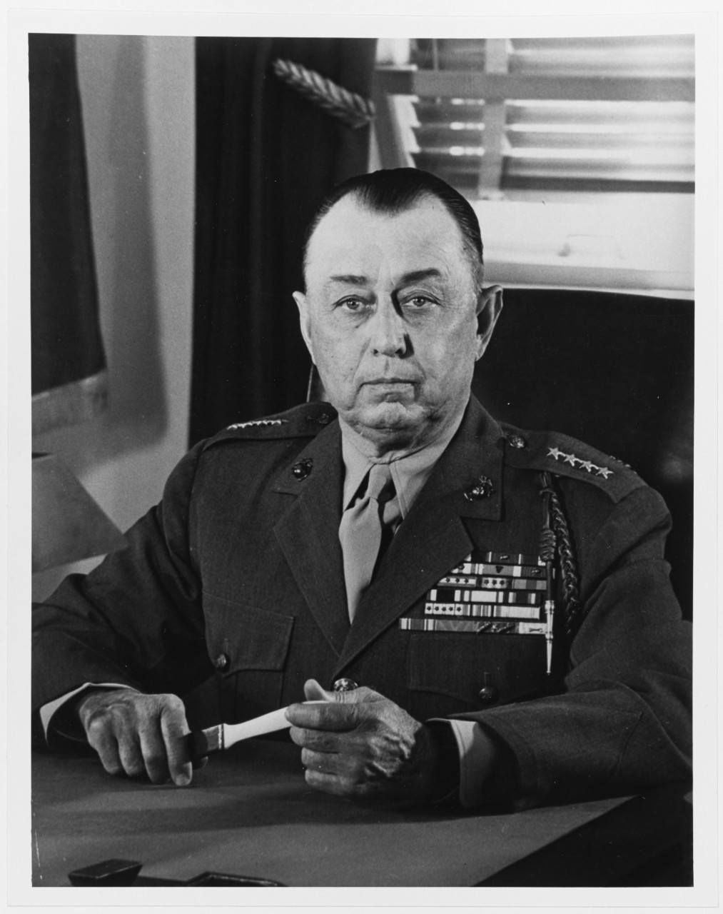 Clifton B. Cates, Nineteenth Commandant of the United States Marine Corps, 1948-1952