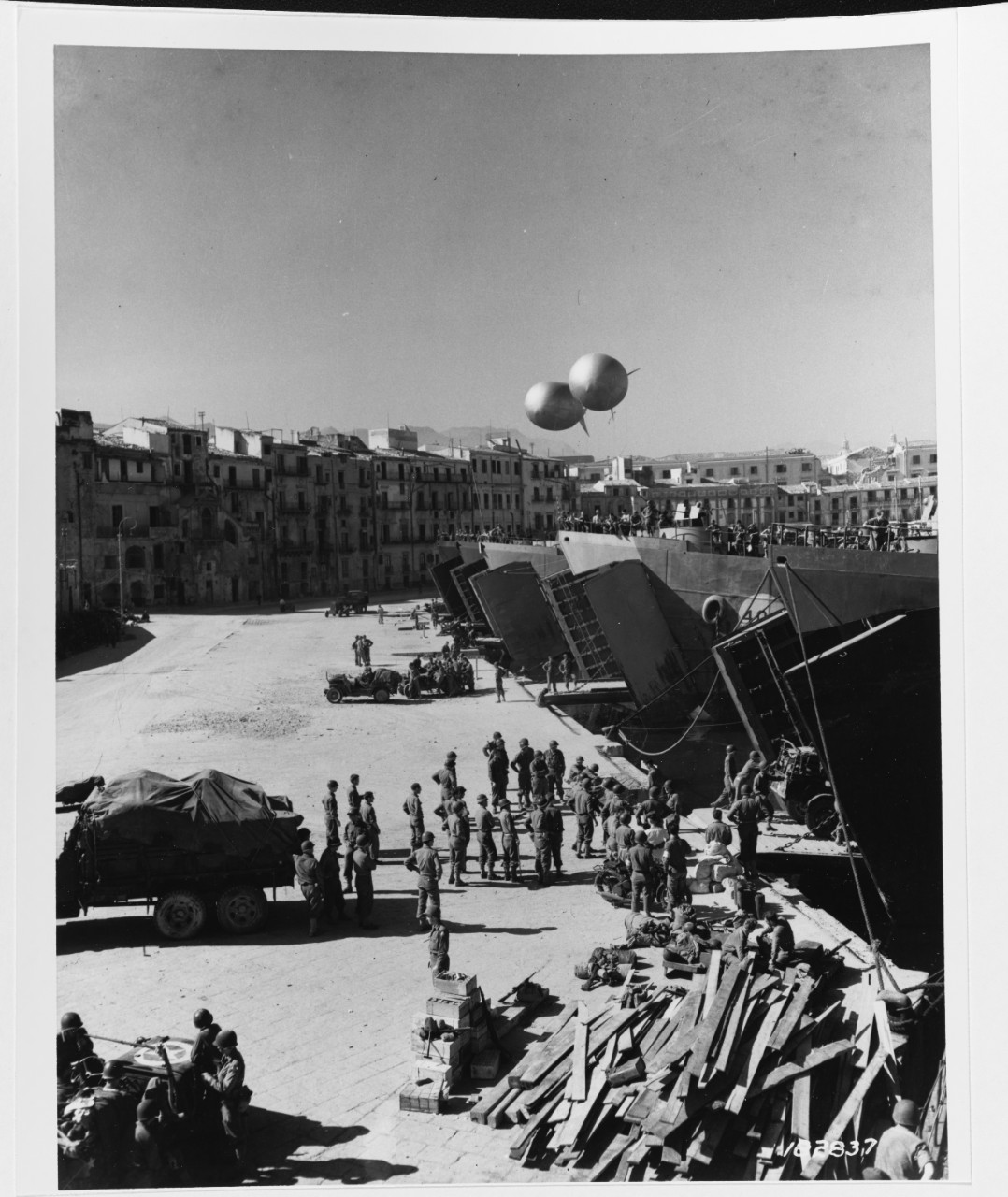 Salerno Operation, 1943