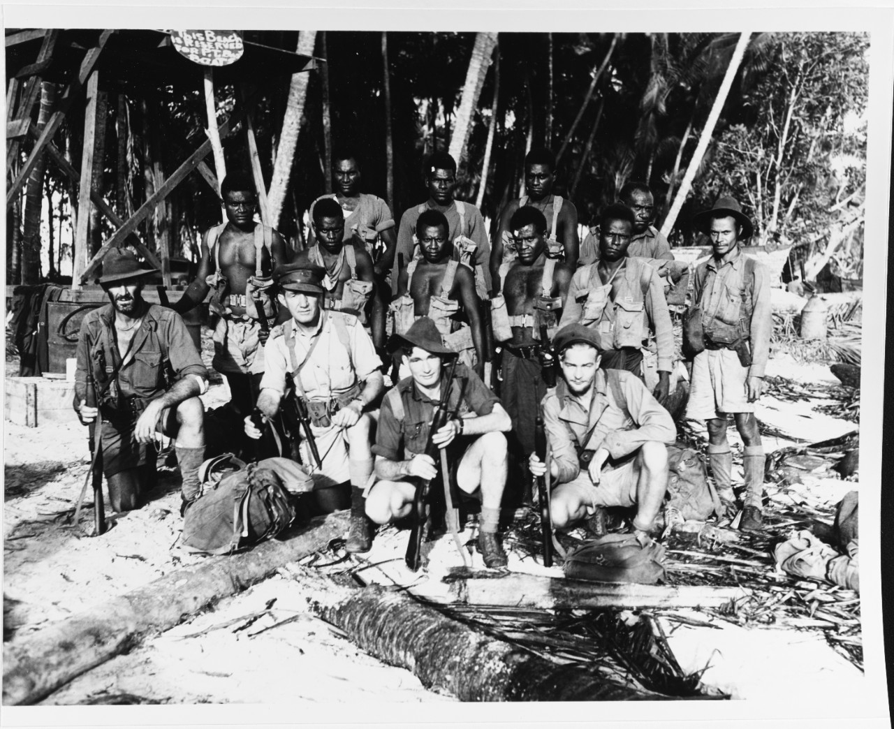 Australian Coast Watchers on Bougainville, November 29, 1943