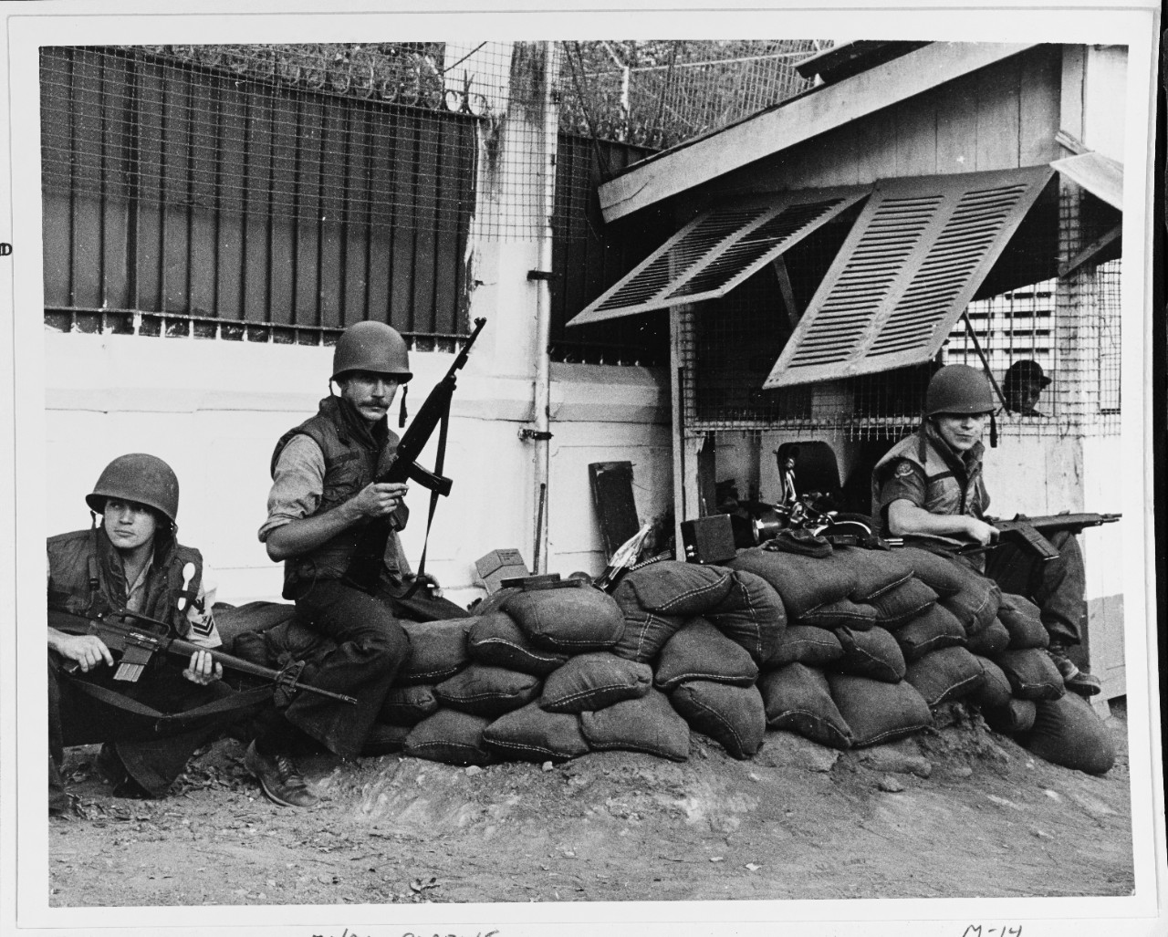 U.S. Navy Personnel Attached to Commander Naval Forces Vietnam