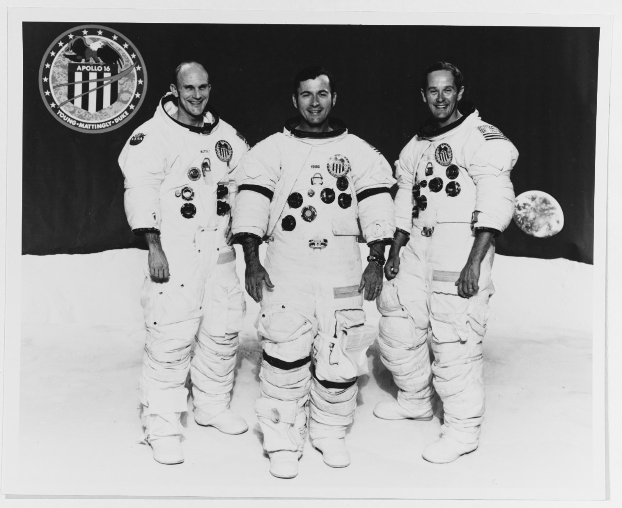Apollo Sixteen Crew