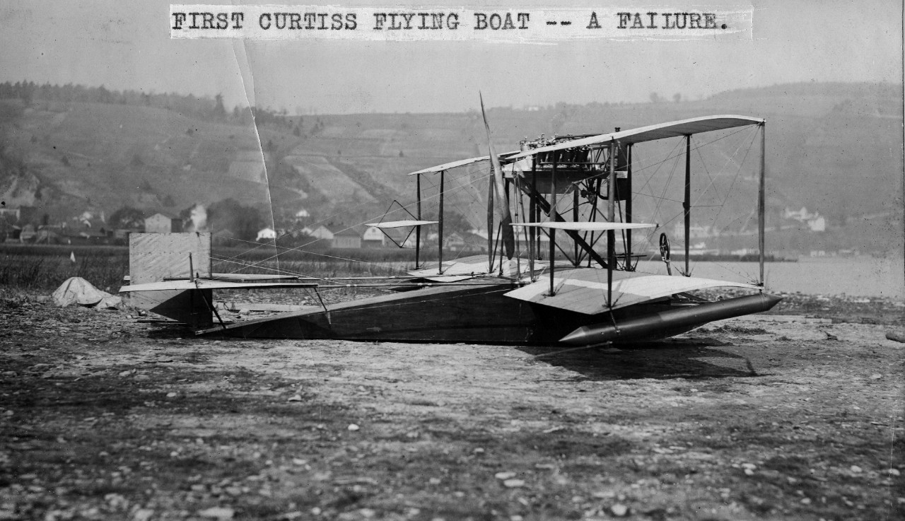 Curtiss flying boat #1