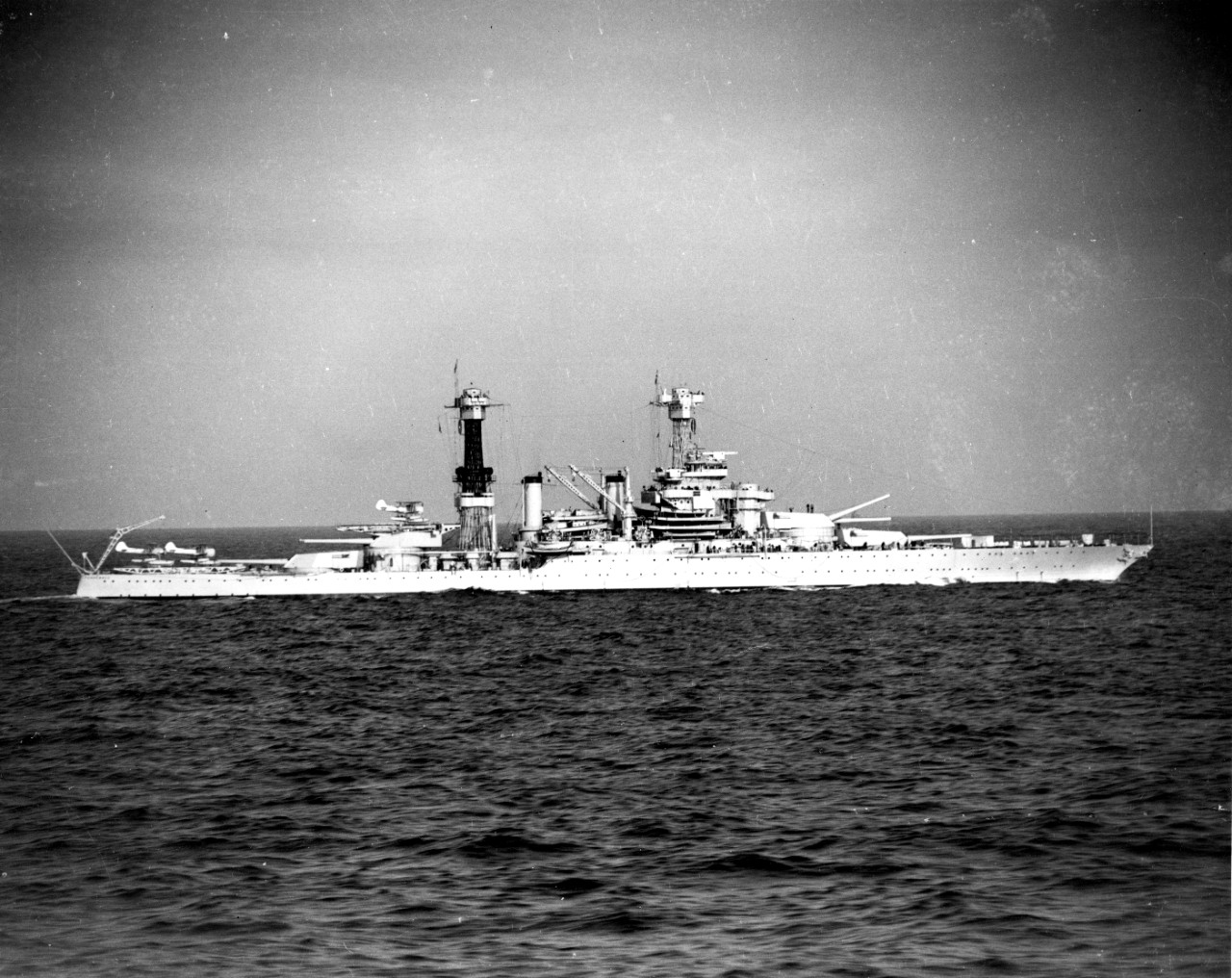 Photo #: 80-G-456336  USS Tennessee (BB-43)