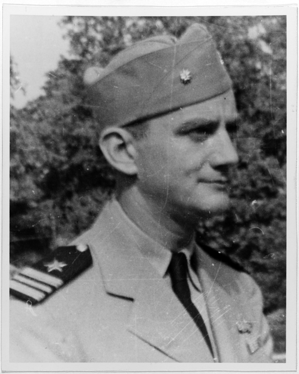 Photo #: NH 50661  Lieutenant Commander Fred Connaway, USN