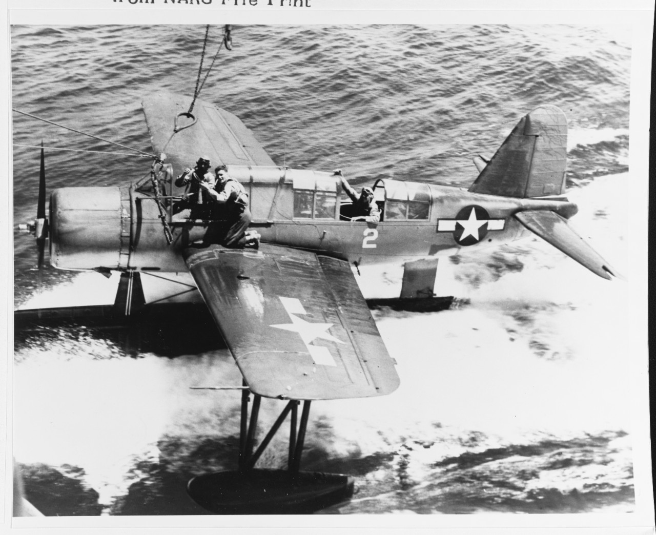 Photo #: 80-G-283564  Carrier Raids on Western New Guinea, April 1944