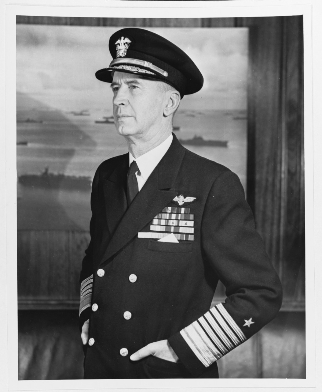 80 G 416885 Fleet Admiral Ernest J King USN Chief Of Naval Operations And Commander In US