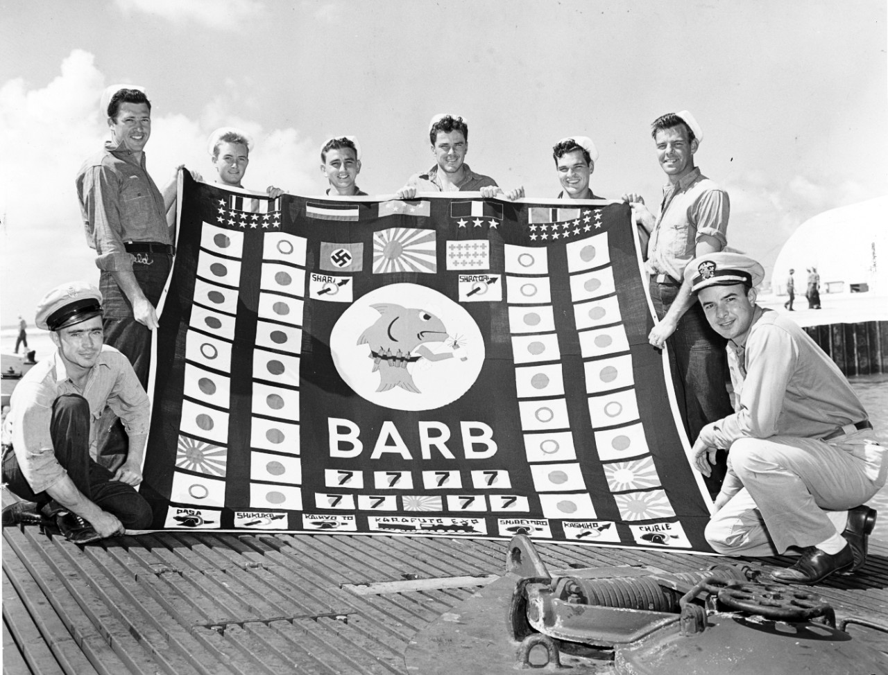 Photo #: NH 103570  USS Barb (SS-220)
