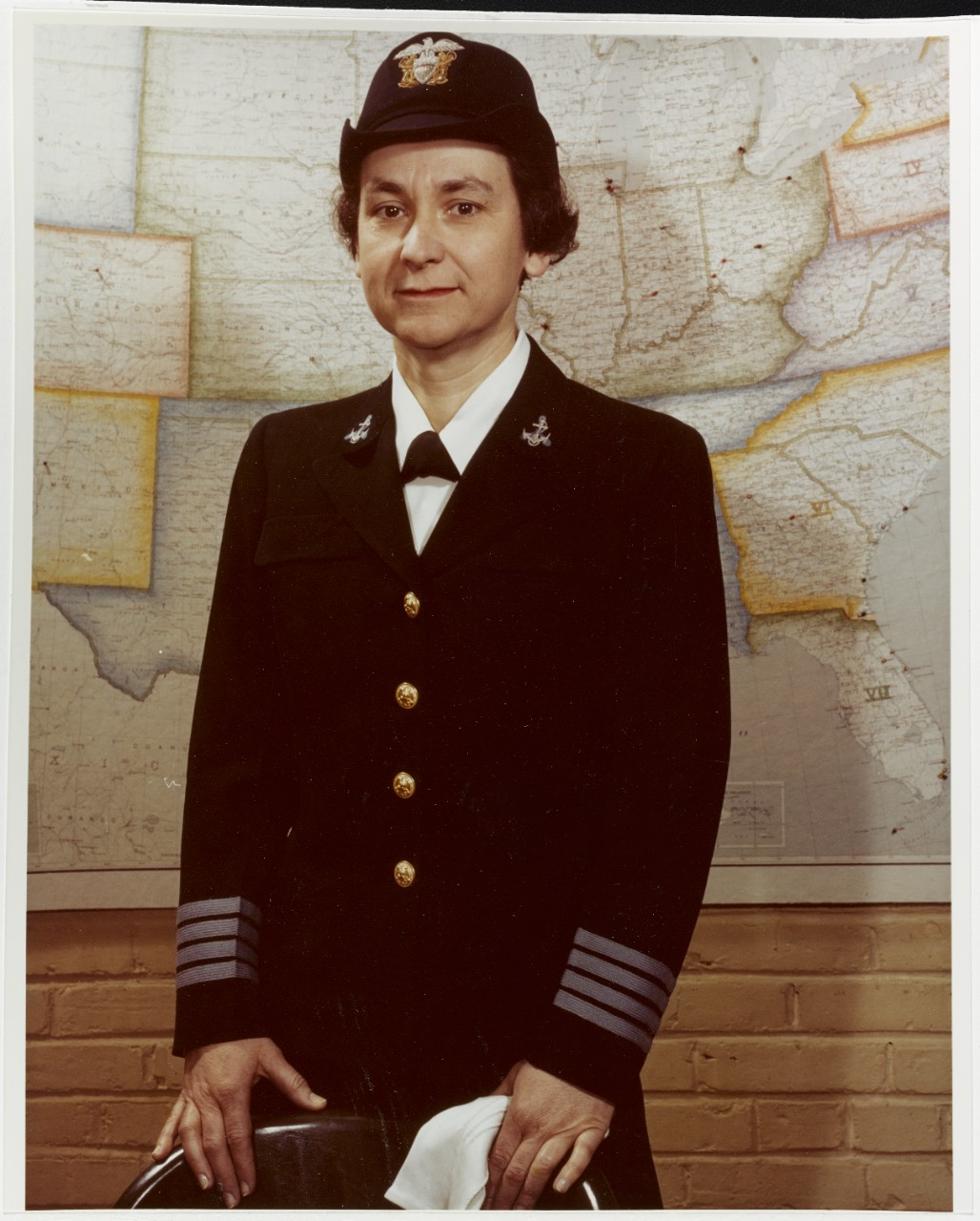 Photo #: 80-G-K-13979 Captain Mildred H. McAfee, USNR
