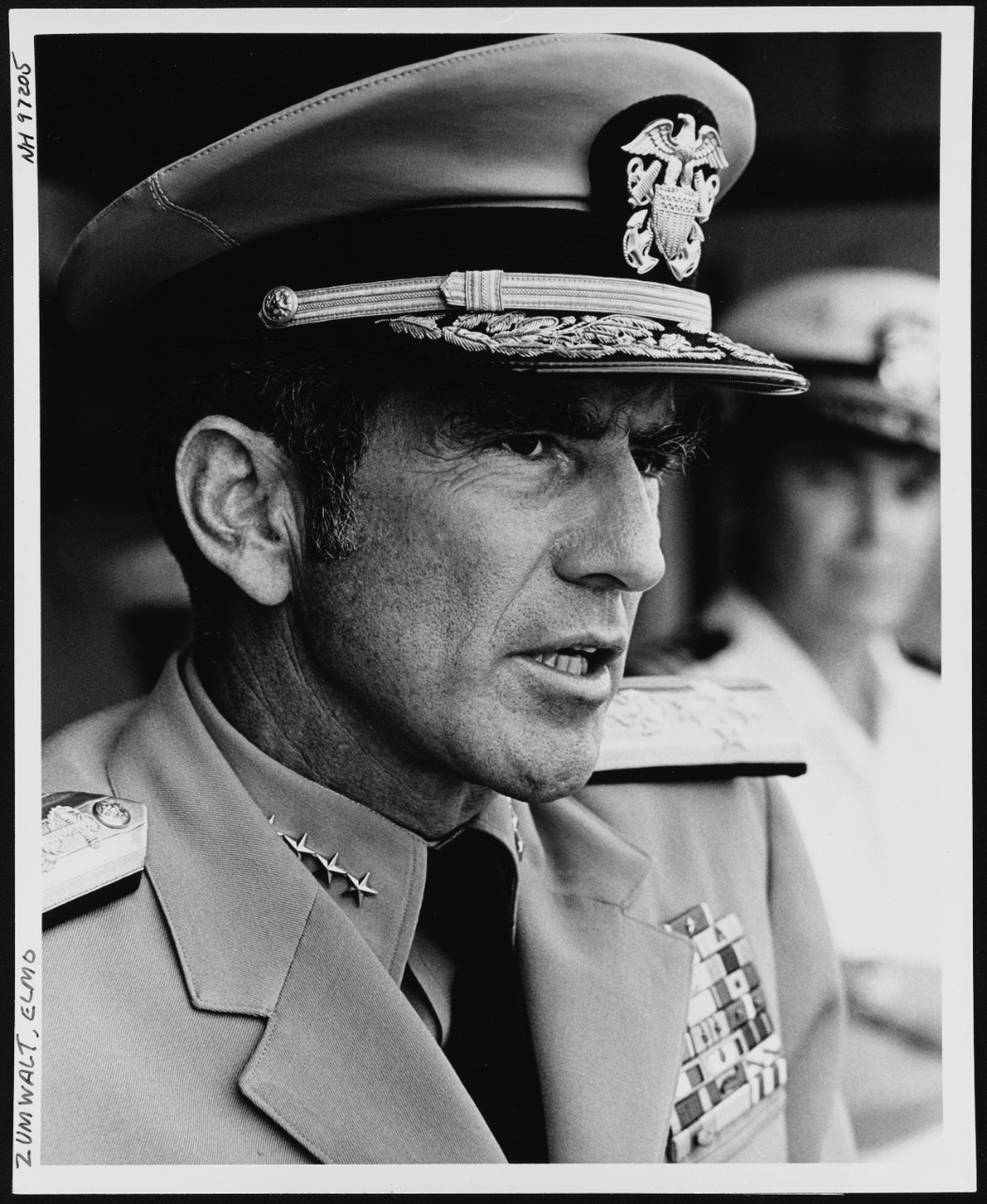 Photo #: NH 97205  Admiral Elmo R. Zumwalt, Jr., USN