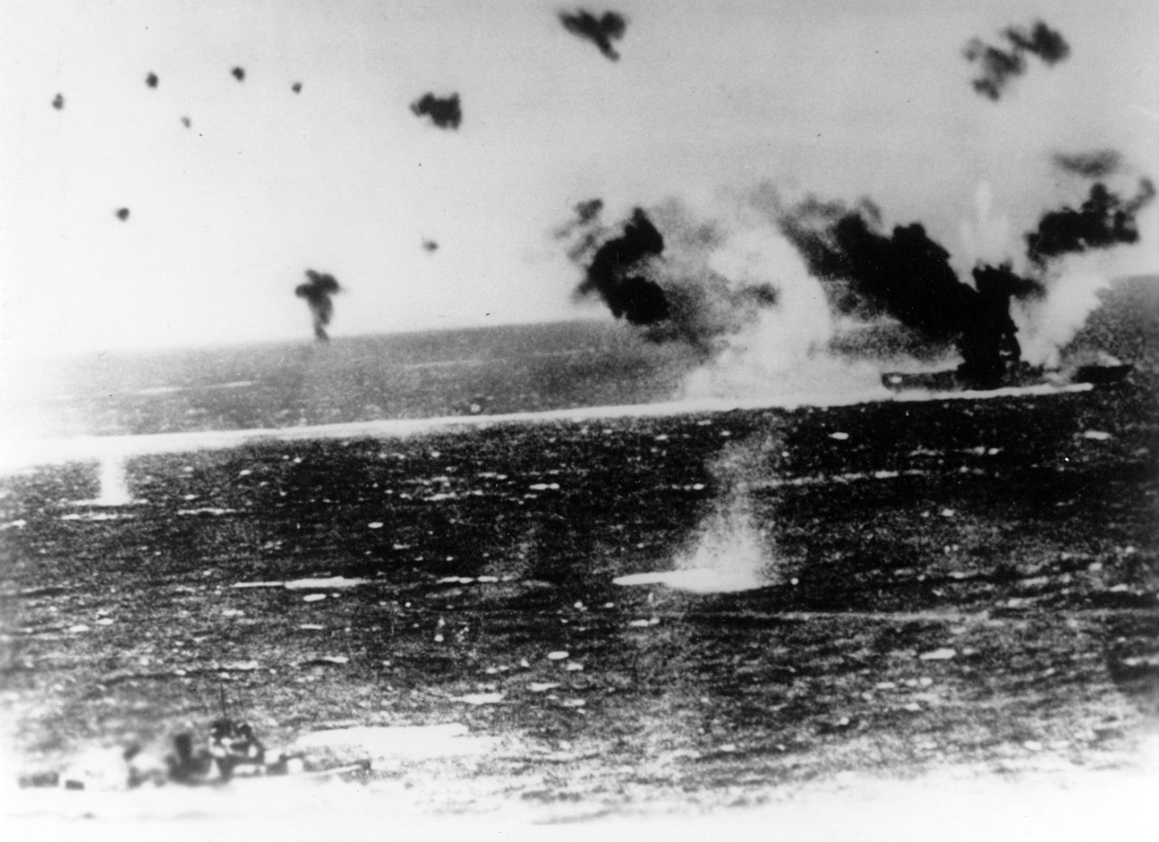 Photo #: NH 95579  Battle of the Coral Sea, May 1942