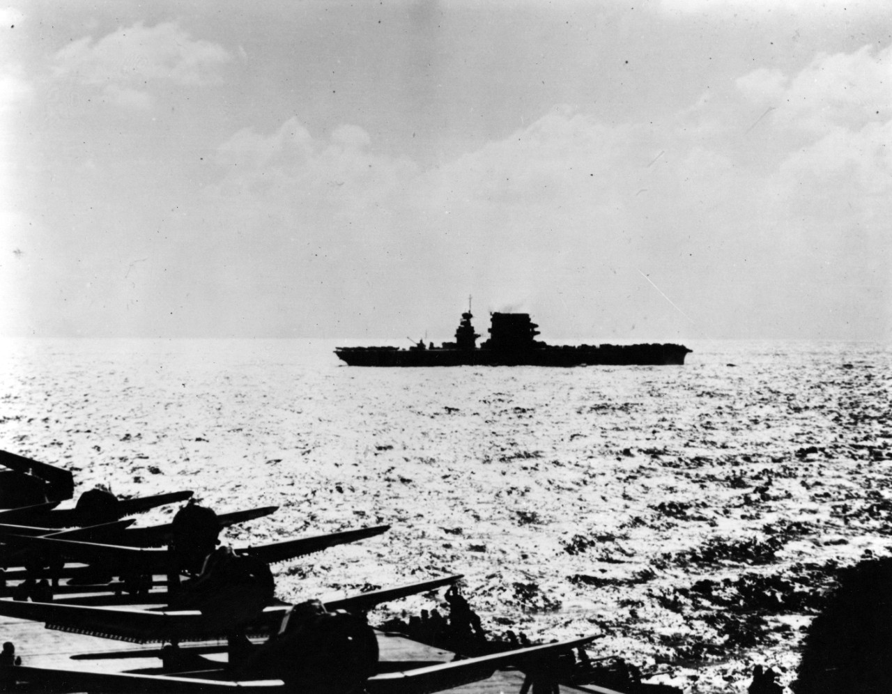 Photo #: 80-G-16569  Battle of Coral Sea, May 1942