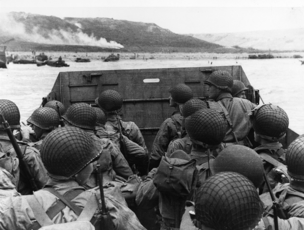 Photo #: SC 320901  Normandy Invasion, June 1944