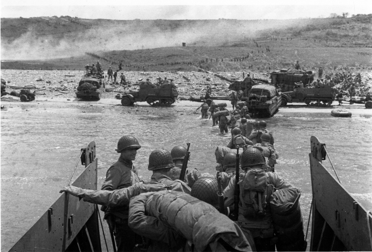 Photo #: SC 320902  Normandy Invasion, June 1944