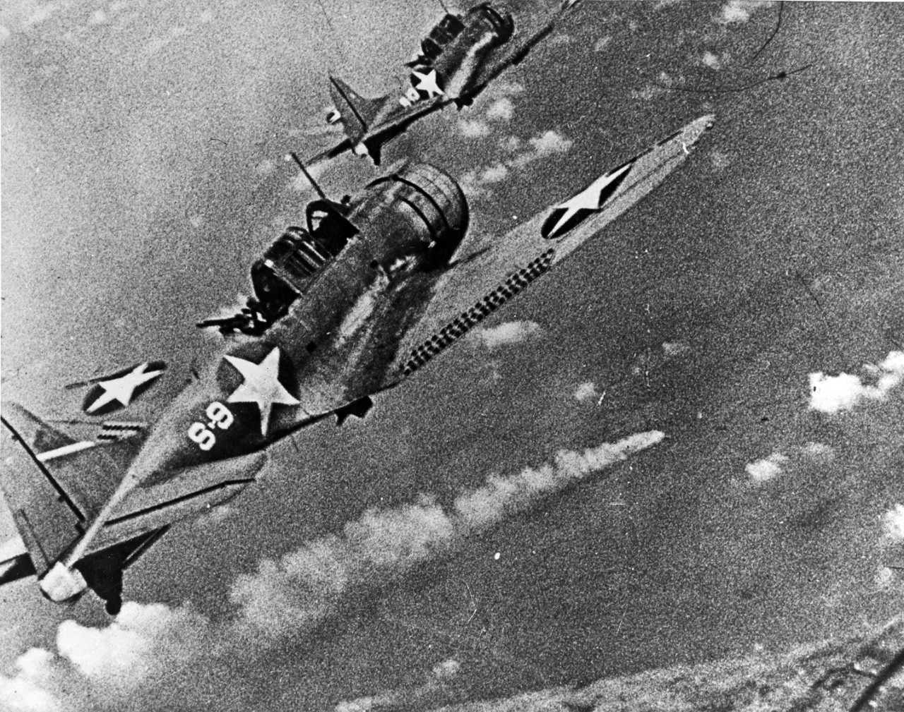 Photo #: 80-G-17054  Battle of Midway, June 1942