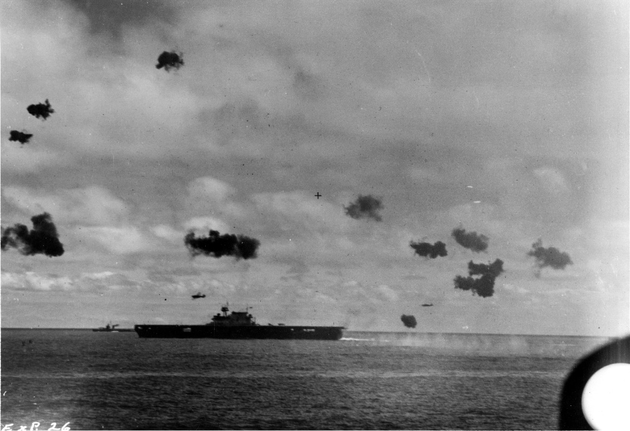 Photo #: 80-G-32241  Battle of Midway, June 1942