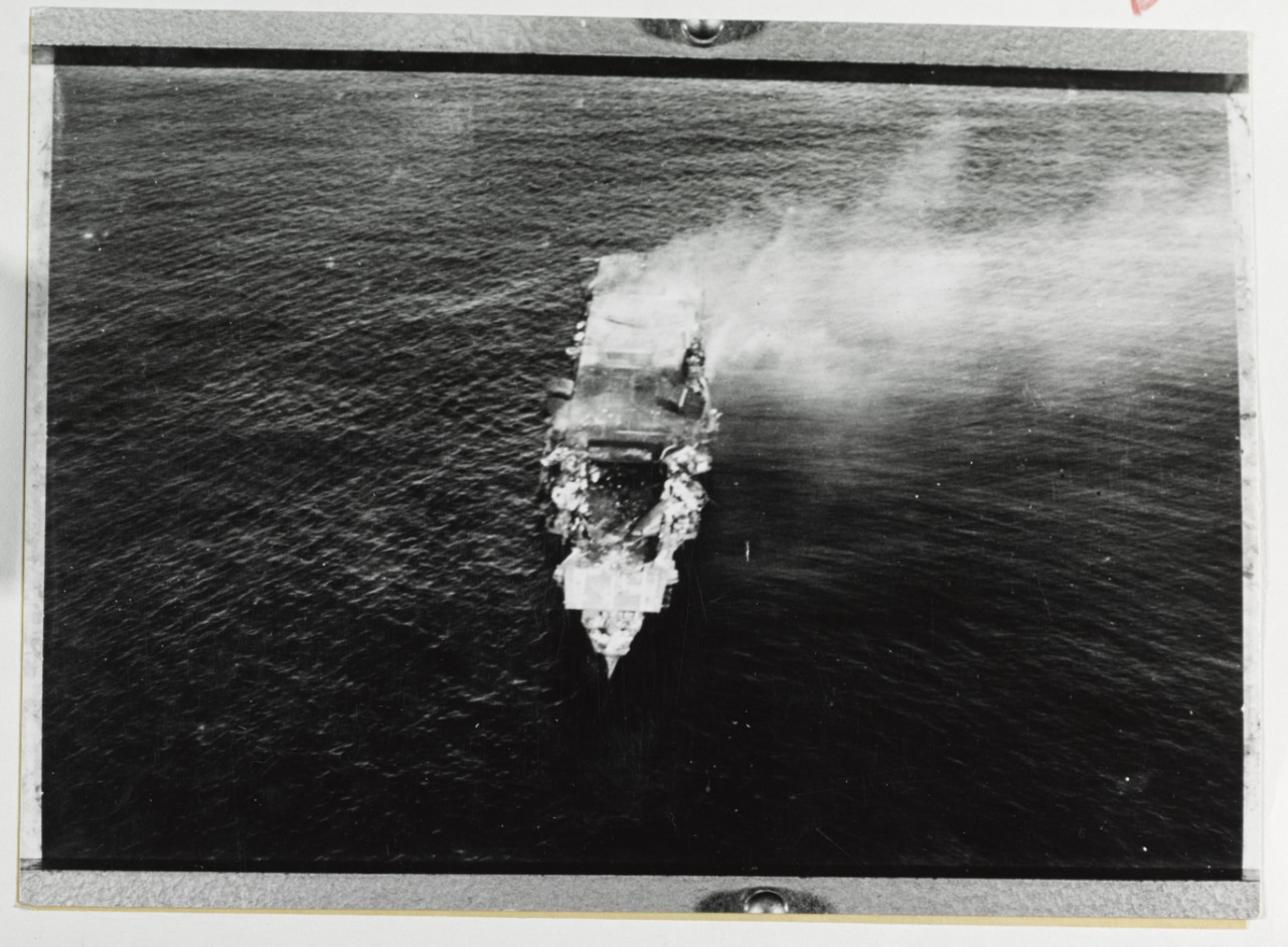 Photo #: NH 73065  Battle of Midway, June 1942