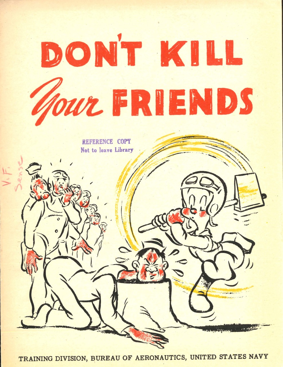 Don't Kill Your Friends: Safety Precautions for Fixed Gunnery Front Cover
