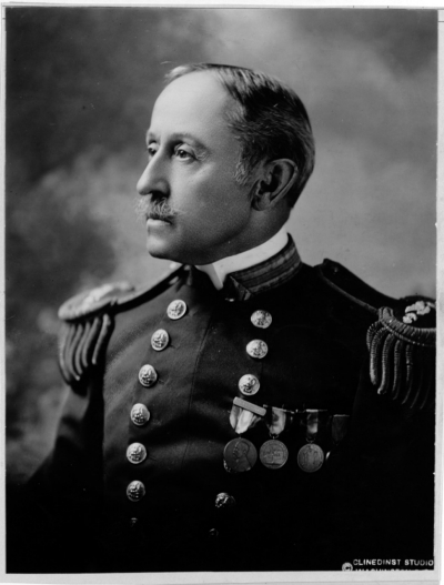 George R. Clark, Rear Admiral, USN,  Judge Advocate of Navy. NH 51646