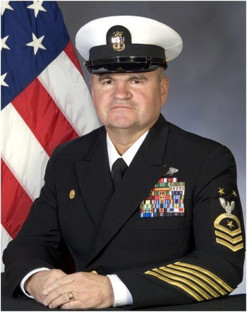 FORCM (SCW) JAMES D. FAIRBANKS, USN.