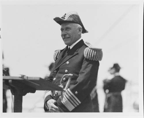 Admiral William V. Pratt, USN