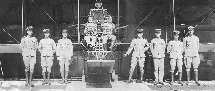 Student Naval Aviator Class, October 1915