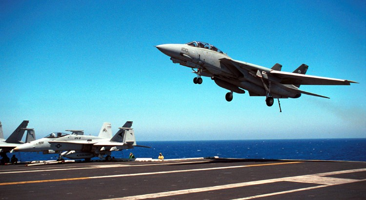 Image relating to F-14 TOMCAT