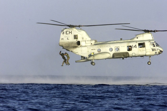 Image of CH-46 SEA KNIGHT