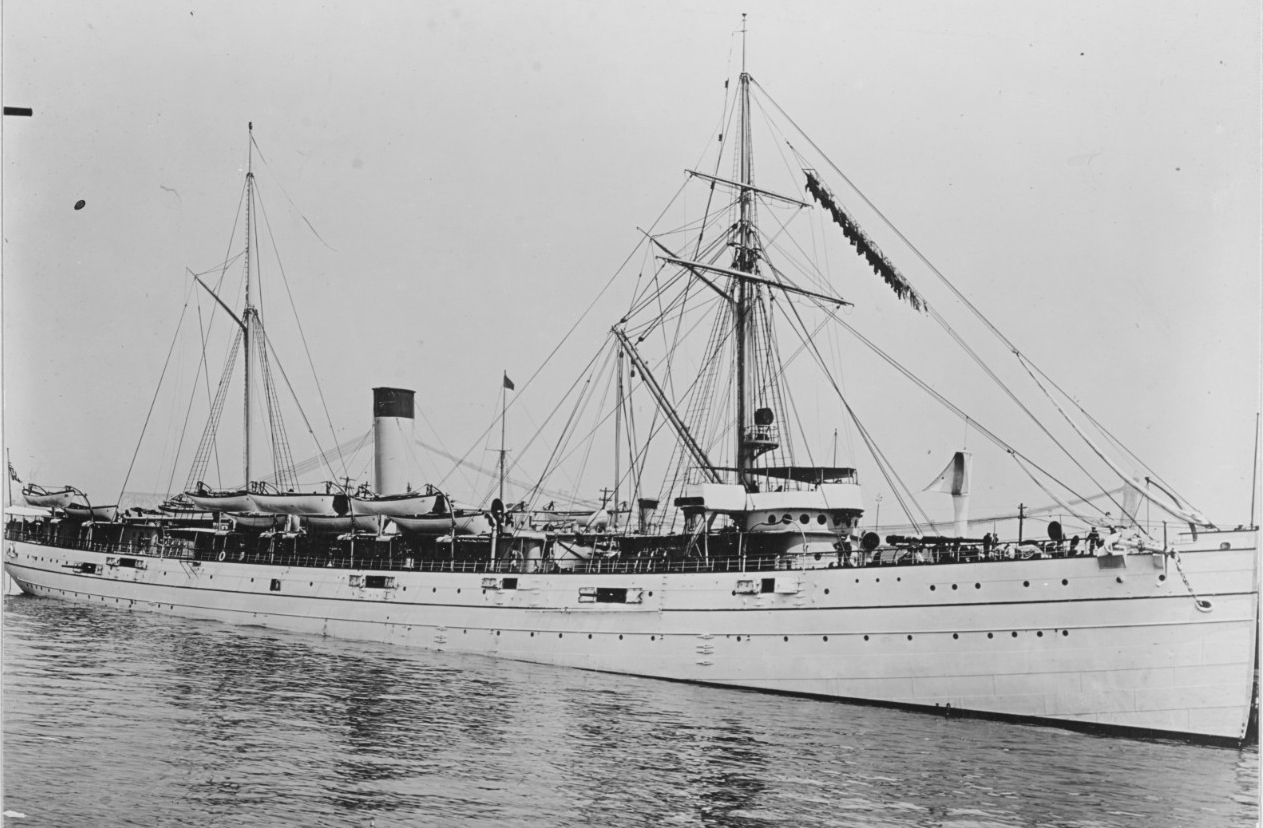 Buffalo in 1902. (Naval History and Heritage Command Photograph NH 56644)