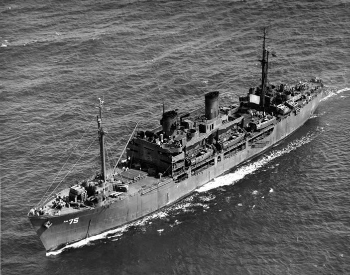 USS BEGOR APD 127 US Naval Destroyer USN Navy Ship Print
