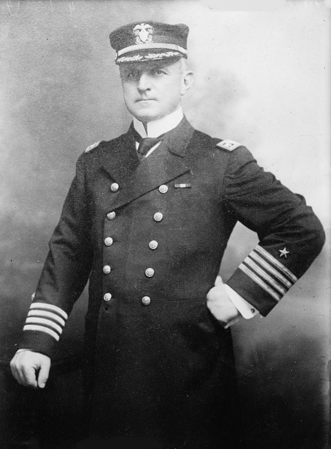 Capt. William R. Rush, date unknown. (Library of Congress Prints and Photographs Division)