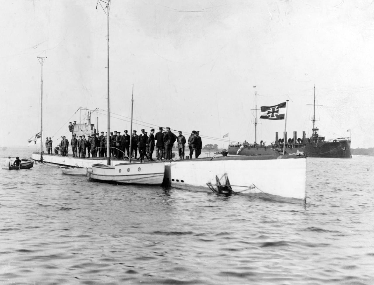 German Submarine U-53