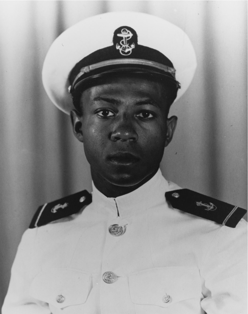 Naval Aviation Cadet Jesse L. Brown, NAS Jacksonville, October 1948. (U.S. Navy Photograph, 80-G-706531, National Archives and Records Administration, Still Pictures Division, College Park, Md.)