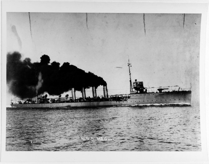 McCall, photographed by O. Waterman, Hampton, Va. (Naval History and Heritage Command Photograph NH 86035)