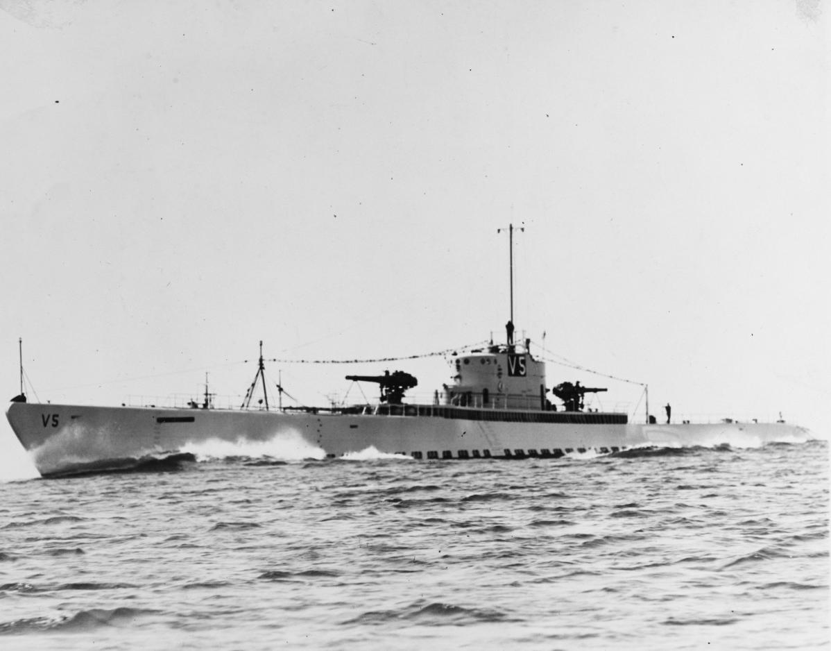 USS V-5 (SC-1), later USS NARWHAL (SS-167)