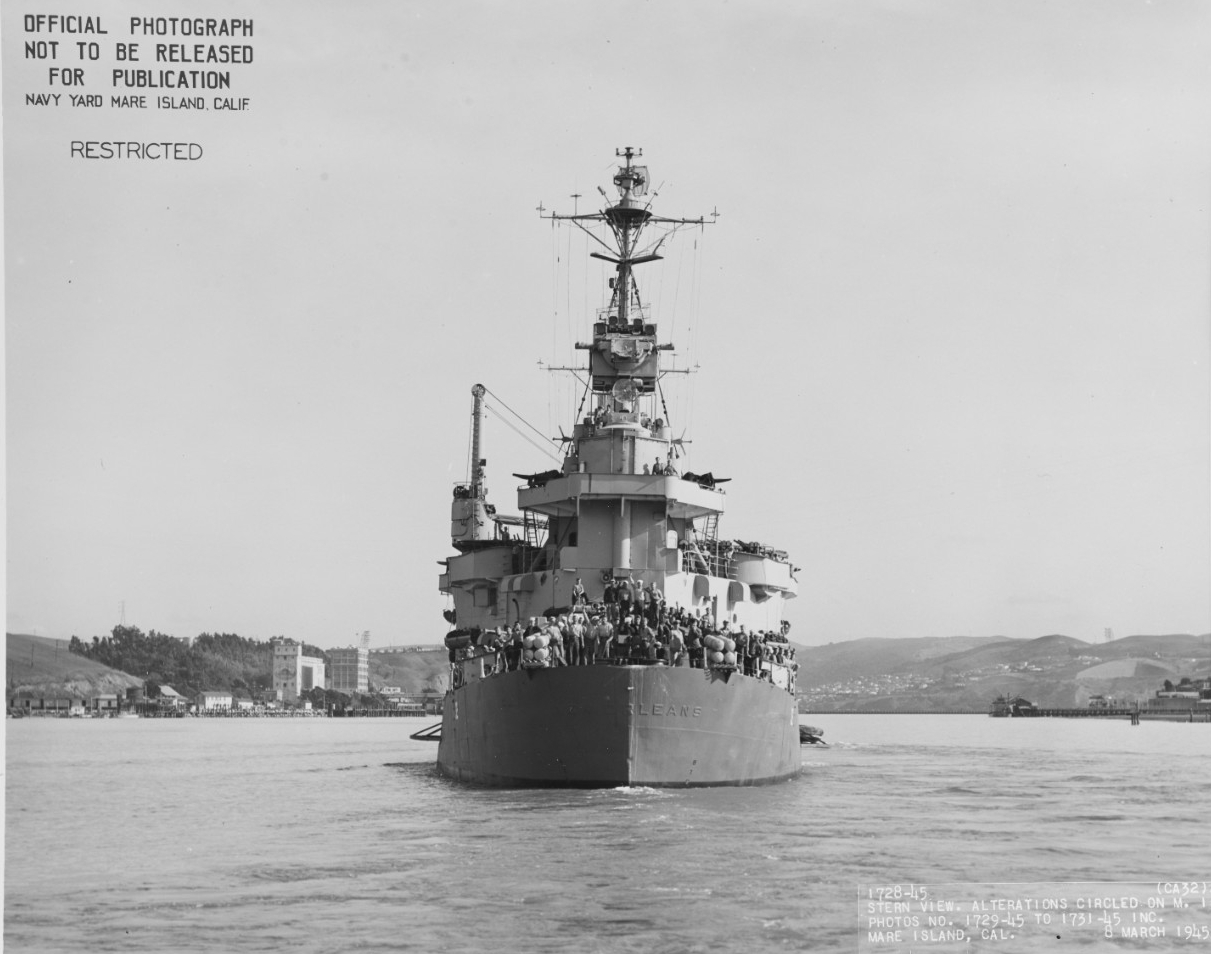 USS NEW ORLEANS (CA-32)