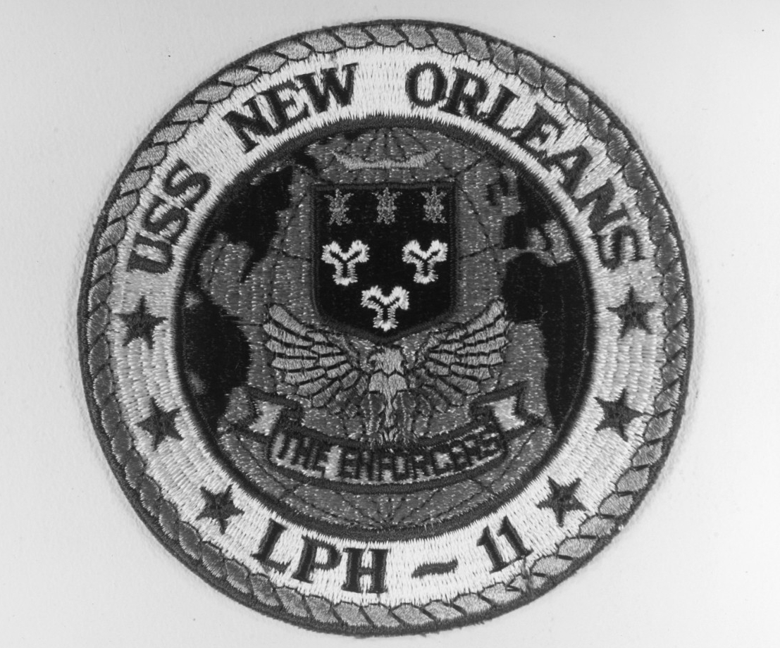 New Orleans (LPH-11) insignia