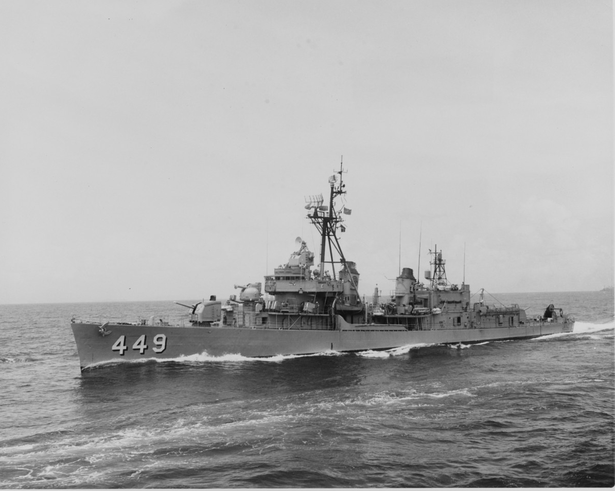 Photo #: NH 107294  USS Nicholas