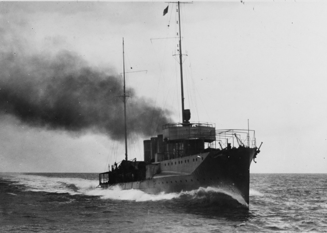 Nicholson steamed at 30.09 knots during her sea trials in 1914. (Naval History and Heritage Command Photography NH 44829)