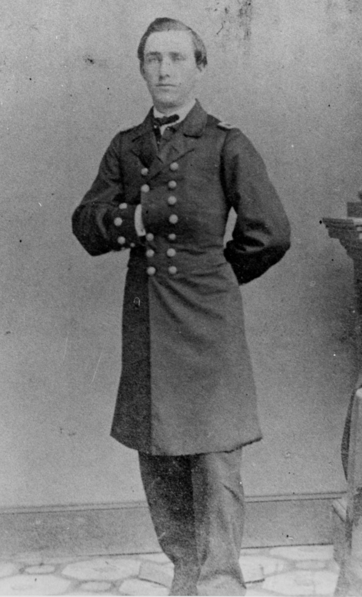 Acting Master Samuel W. Preston, USN, (1840-1865) Photographed by Byron, New York, circa 1861. U.S. Naval History and Heritage Command Photograph, NH 47237.