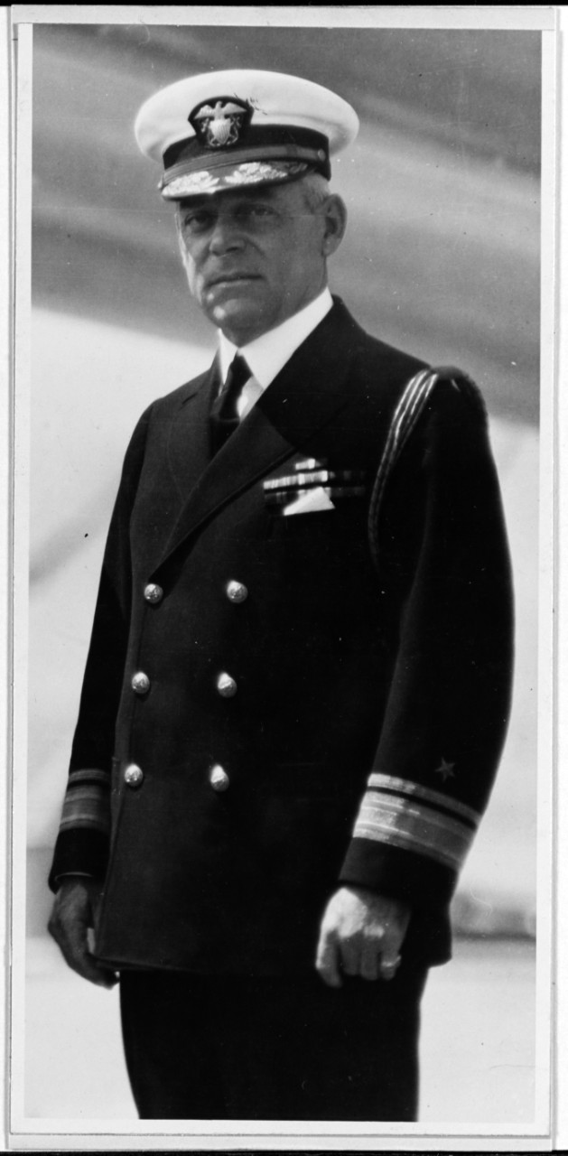 Rear Adm. Joel R. P. Pringle, late 1920s-early 1930s. (Naval History and Heritage Command Photograph NH 47243)